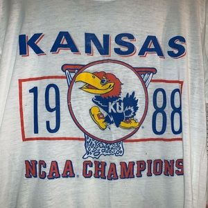Vintage KU '88 Champs Tee